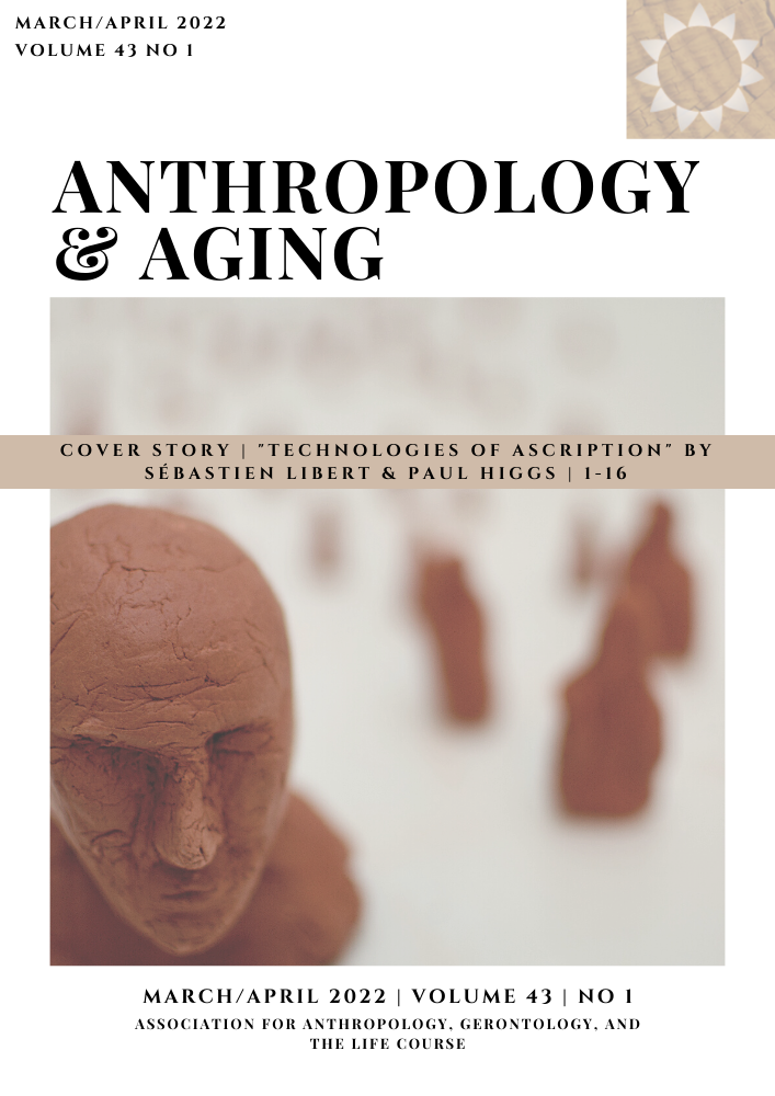 Cover of Anthropology and Aging, Volume 41, Number 2, 2020